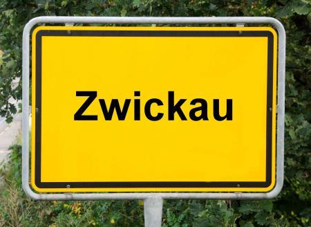 Ortsschild neu Zwickau