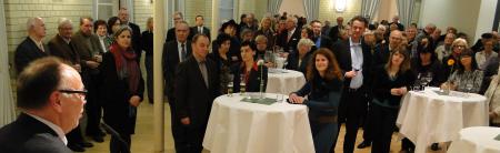 Begrüßung Weimann - Foto Rolf Dvoracek