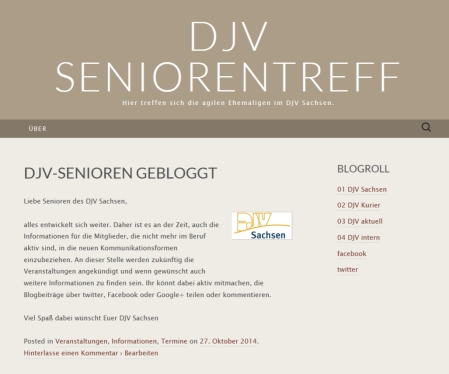 Seniorenblog 1.11.2014