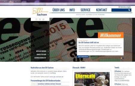 Neue Seite in Arbeit 2015